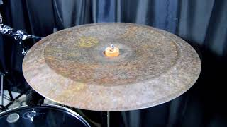 "Diril Cymbals Italia - China 20"" Primitive (Reverse Hammered) Sound Demo"