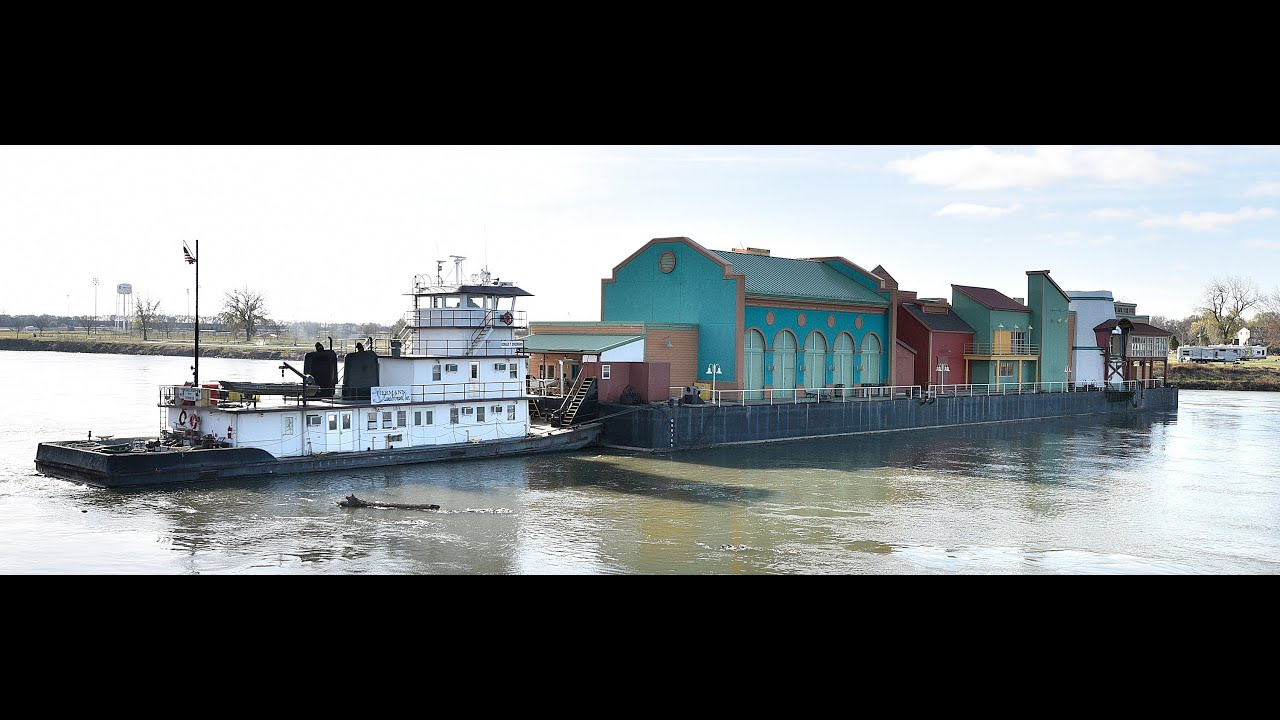 Video Argosy Casino Barge Removal