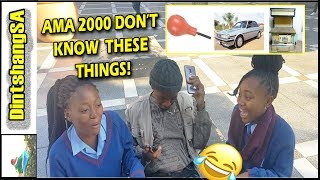 I'm Leaving SataFrika: Ama 2000 vs 90's Street Questions