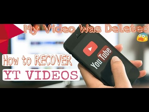 Recover Your Deleted Videos Of YOUTUBE 2017(HINDI)