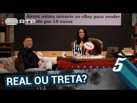 Notícia real ou treta? | 5 Para a Meia-Noite | RTP