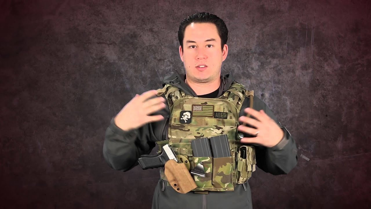 Airsoft Gi Condor Cyclone Plate Carrier Review With G