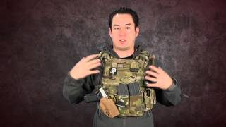 Airsoft GI - Condor Cyclone Plate Carrier Review with G-code and Blue Force Gear