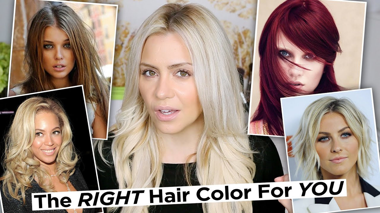 The Right Hair Color For Your Skin Tone How To Find Your