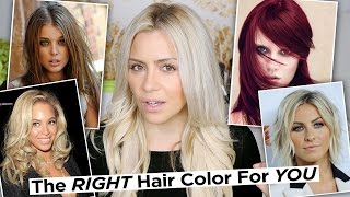 The Right Hair Color for YOUR Skin tone + How To Find Your Skin Tone