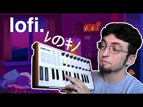 THIS LOFI BEAT IS TOO CHILL! (making a beat in Ableton)