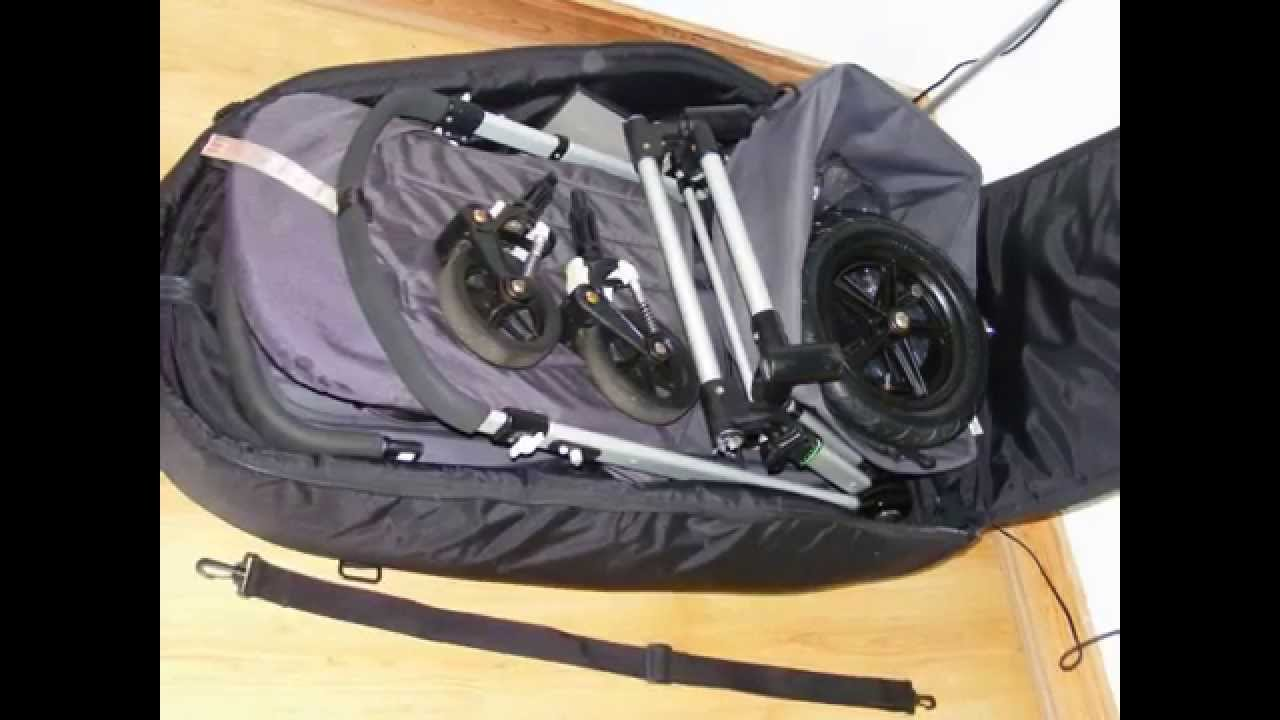 Bugaboo Cameleon With Maxi Cosi Pebble And Universal Travel Bag Wheels