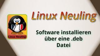Software installieren über eine .deb Datei