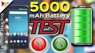 Asus Zenfone Max Pro M1 5000mAh Battery Performance | Not Impressive | Data Dock