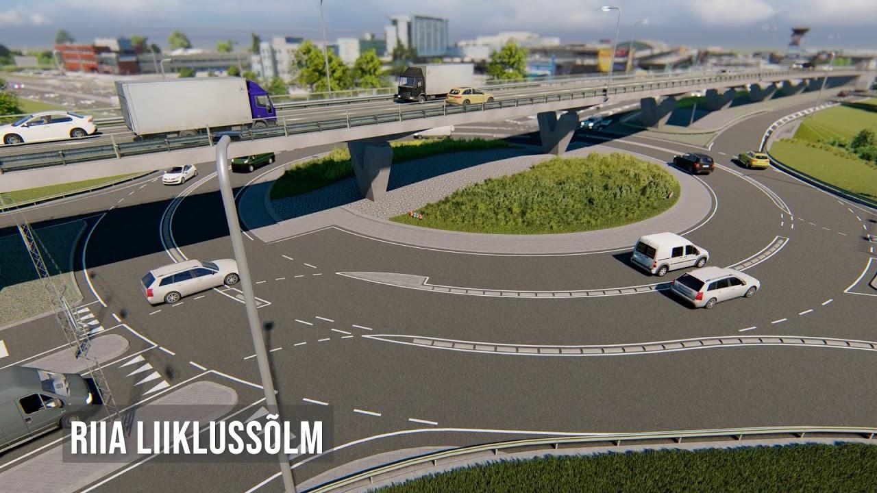 Tartu läänepoolse ümbersõidu II ehitusala projekti tutvustav video