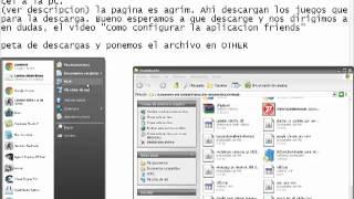 Como descargarle aplicaciones al sony ericsson txt pro o CK15a