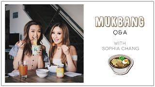 MUKBANG (Watch Me Eat) Q&A w/ Sophia Chang | ilikeweylie