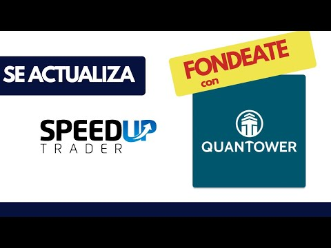 Speed Up Trader se Actualiza – Plataforma Quantower 100% Gratis