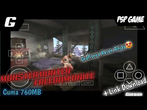 Download Monster Hunter Freedom Unite |#8 PPSSPP GAME