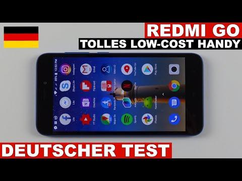 Redmi Go Testbericht: Low-Cost in gut! (Deutsch)