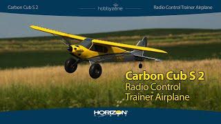 Vidéo: CARBON CUB S2 1.3m RTF SAFE - HBZ32000