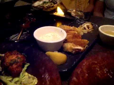 Dinner At Shigezo, Portland, OR.3gp