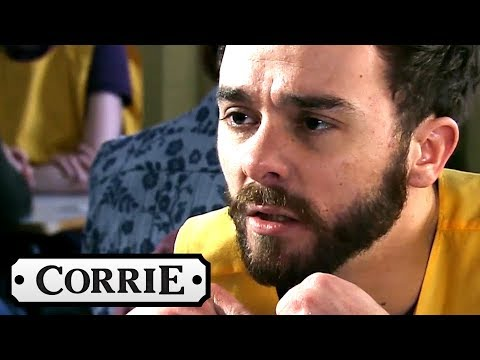 Coronation Street - David's Shame Could Mean More Jail Time