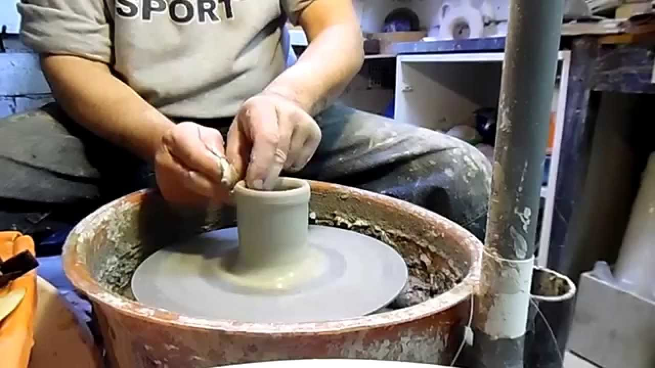 Super COME SI REALIZZA UNA TAZZA DA TE IN CERAMICA (HOW TO MAKE A  OP96