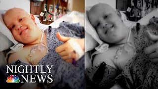 With Marine Dreams Derailed By Rare Cancer, Young Man Finds Another Way To Serve | NBC Nightly News