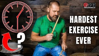 Hardest Drum Exercise Ever | How To Practice | Stephen Taylor