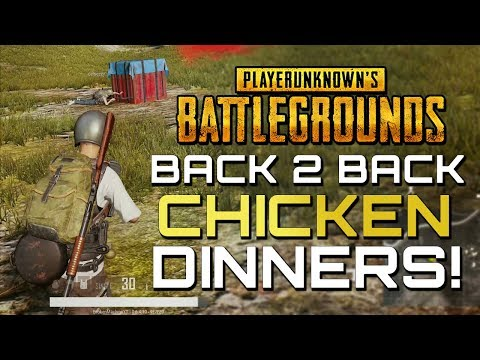 PUBG: Two Chicken Dinners Please (Xbox One X Gameplay)