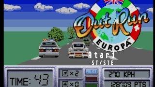 Out Run Europa - Atari ST (1991)