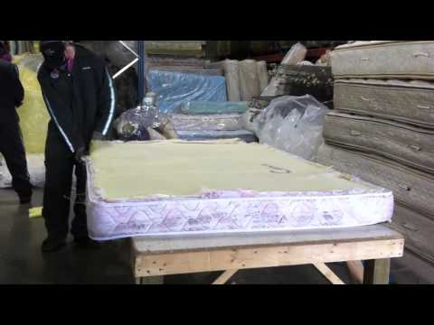 How is a mattress recycled?
