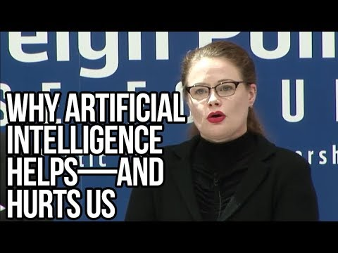 Why Artificial Intelligence Helps—and Hurts Us | Tarah Wheeler