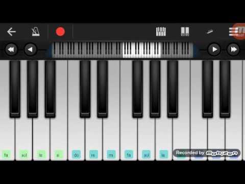 -Piano keyboard- Force -Alan Walker-