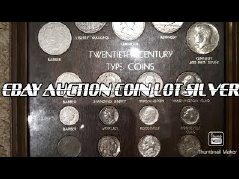 Ebay Auction 20th Century Silver Coin Lot Unboxing Youtube