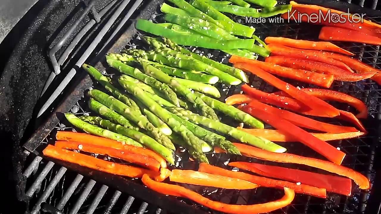 Parrillada de verduras a la brasa youtube for Parrillada verduras