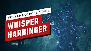 Final Fantasy 7 Remake Walkthrough  - Whisper Harbinger Boss Fight