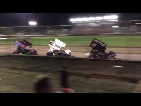 Grant Duinkerken 360 Sprint Car Main Event Ocean Speedway 8-23-19