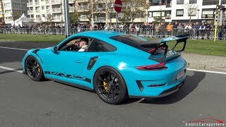 Porsche 991.2 GT3 RS - LOUD Accelerations !