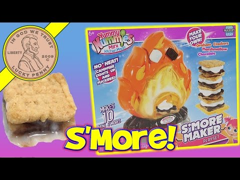 Yummy Nummies S'Mores Maker How To Make A S'More!
