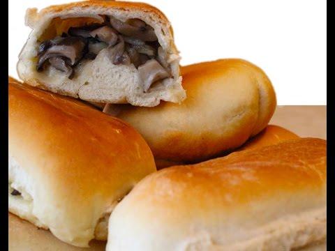 Шаньги с картошкой и грибами