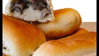 Пирожки с грибами: выпекаем пирожки с грибной начинкой