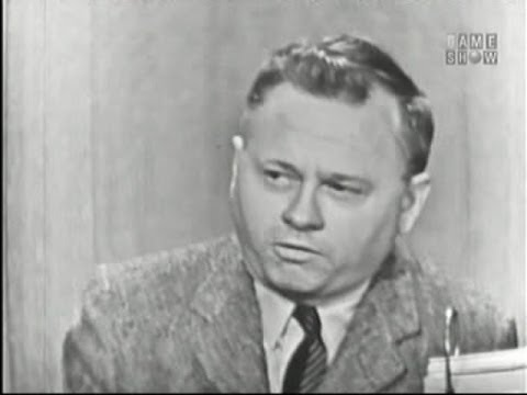 What's My Line?  Mickey Rooney; Martin Gabel panel May 5, 1957