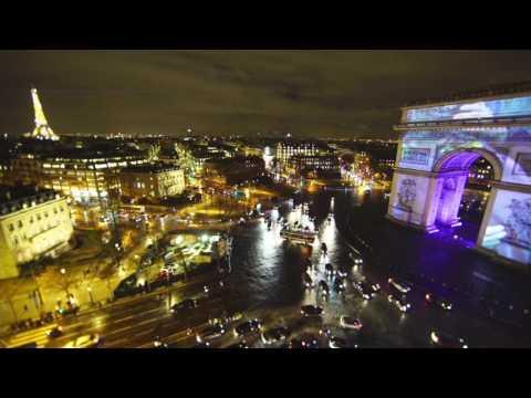 Phenomenal mapping - Arc de Triomphe