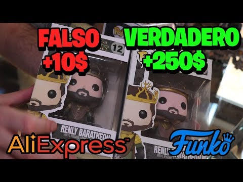 Funko POP ALIEXPRESS FALSO vs ORIGINAL