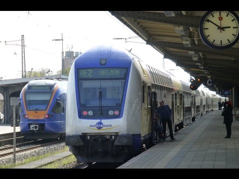 German Trains: Göttingen Bahnhof - Freight & Regional Services