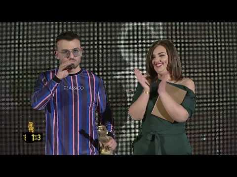 Best VIDEO 2017 Ardian Bujupi ft Capital T ANDIAMO - ZHURMA VIDEO MUSIC AWARDS 13 (2017)