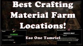 ESO | Best Material Farming Locations (Ore, Runes, Wood, Etc) | One Tamriel