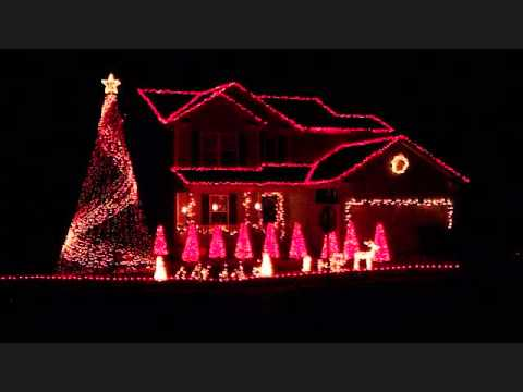 2011 Brown Christmas Light Show - Deck the Halls - YouTube