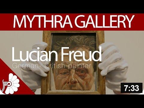 Lucian Freud- German- British painter- contemporary famous artist- figurative style
