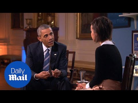 President Obama is shocked to learn about tampon tax in US - Daily Mail