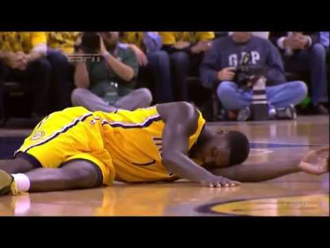 Lance Stephenson Flop On LeBron ECF Gm 2