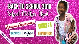 BACK TO SCHOOL 2018 | SHOP WITH ME SCHOOL CLOTHES 🎒🏫