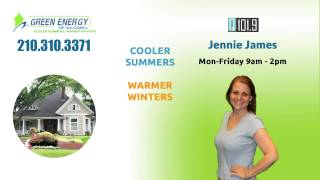 Q-109's Jennie James Talks About Green Energy Radiant Barriers Thumbnail